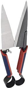 Spear & Jackson 4855TS Razorsharp Topiary Shears, Red, Blue & Silver