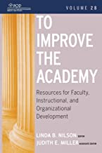 To Improve the Academy Vol 28