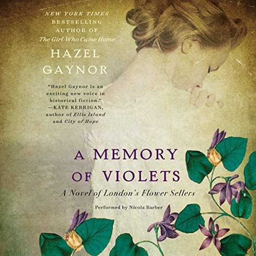 A Memory of Violets audiobook cover art