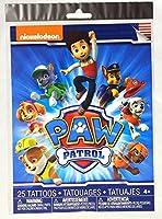PAW PATROL(ポウ・パトロール)25 Tattoos Tatouages(タトゥーシール) [並行輸入品]