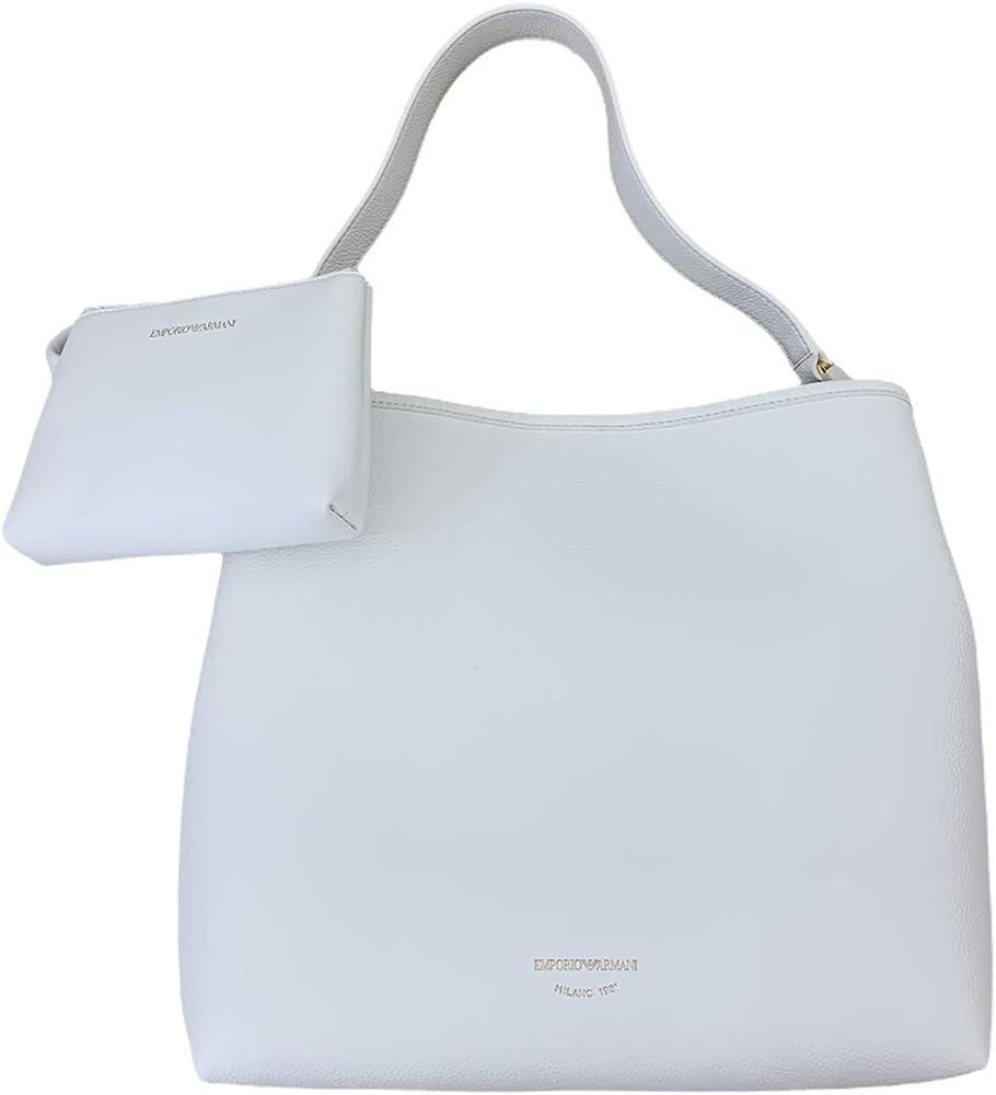 Emporio armani borsa da donna con pochette interna in pelle sintetica Y3E168 YFO5B1