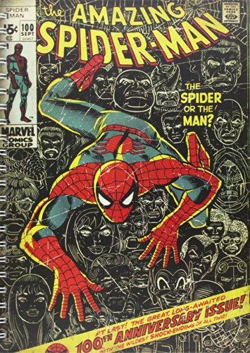 Marvel Carnet A4 Spiderman