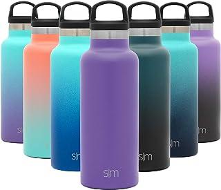 comprar comparacion Simple Modern Ascent 500mL Botella de Agua de Acero Inoxidable con Tapa de Asa, Botella Termica con Boca Estrecha, Aislada...