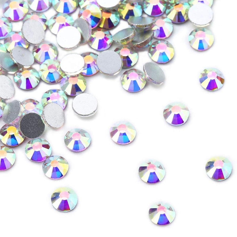 刃なんでも変動するXIULIラインストーン DIY ネイルを飾てと服装使用 高い採光 ホワイトAB ss3-30 (2.8mm ss10(1440粒), AB)