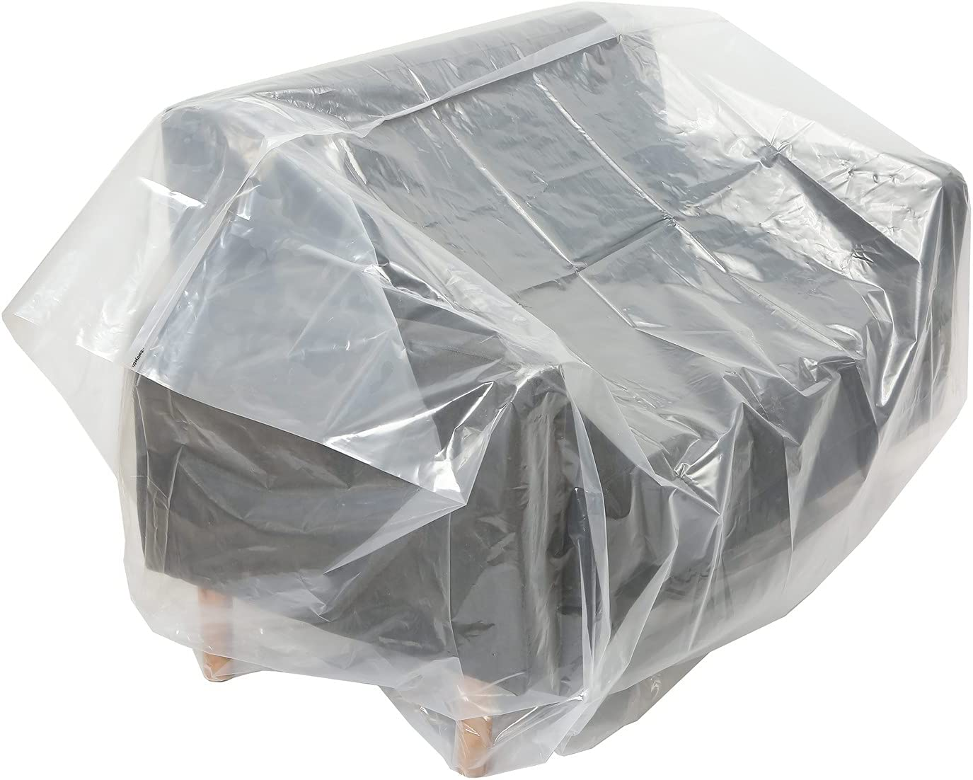 Sofa Cover Plastic Bag for Moving Protection and Long Term Storage (Sofa)