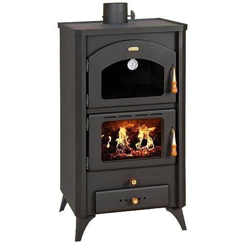 Quemador de troncos para chimenea de combustible sólido 14kW horno estufa de