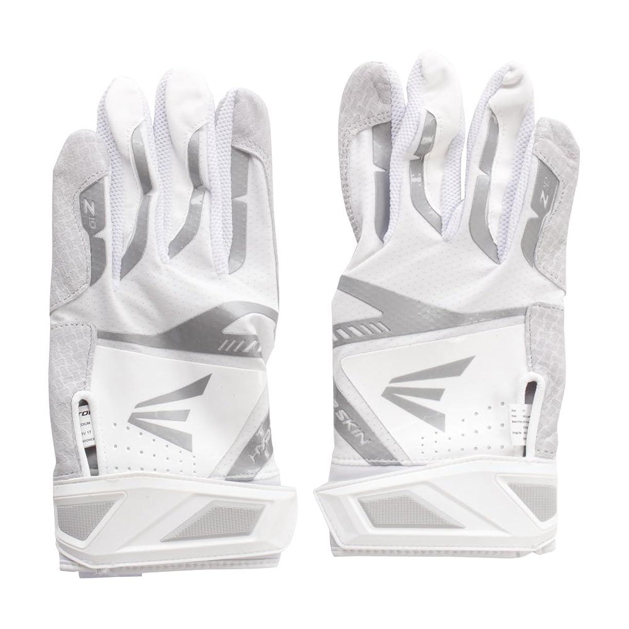 古くなった肯定的臭いEASTON(イーストン) バッティンググローブ 手袋 一般用 Z10 BTG18Z10WHSV ホワイト/シルバー