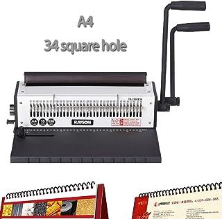 Máquina de encuadernación de 34 agujeros Punzonadora de encuadernaciónUnidad de punzonado de unión de perforación aglomerante de calendario A4