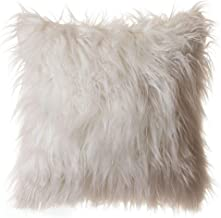Carstens, Inc NE00662 Throw Pillows, 18x18 Stuffed, White