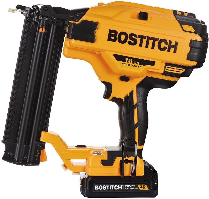 BOSTITCH BCN680D1 20V MAX Brad Nailer Kit