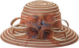 Go Mai Accessories Lady Derby Dress Church Cloche Hat Bow Bucket Wedding Bowler Hats Travel Casual Hat