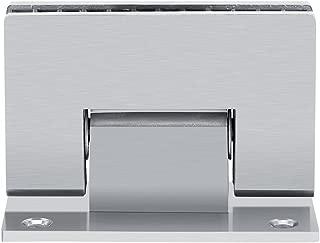 Bisagra para puerta de ducha, 8-10 mm, soporte de 90 grados, sin marco, pared de cristal para puerta de ducha