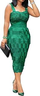 VERWIN Square Neck Hollow Sleeveless Plain Women's Maxi Dress Bodycon Dress Slip Dress