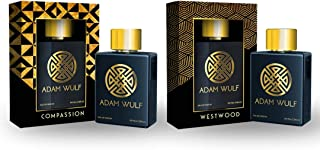 ADAM WULF 100 ML Eau De Parfum DUAL PACK Compassion & Westwood