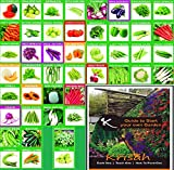 Mega Combo with 46 Variety of seeds Total number of seeds :1985+ Get Instruction Manual free - Start your own Garden Booklet Best in Class Germination