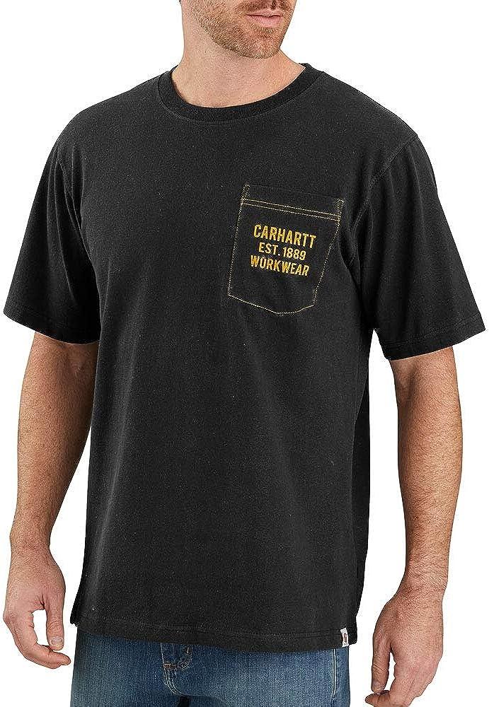 Carhartt Men's 104176 Pocket Workwear Graphic T-Shirt
