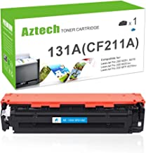 Aztech Compatible Toner Cartridge Replacement for HP 131X 131A CF212A CF210X (Cyan, 1-Pack)