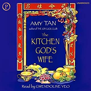 The Kitchen God's Wife audiobook cover art