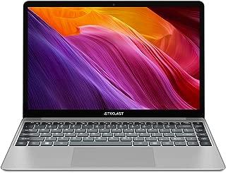 TECLAST F7 Plus 14.1'' 薄型ライトノートPC、8GB RAM/256GB ROM、1920 × 1080 解像度、Windows 10、バックライト付きキーボード、Intel N4100 CPU/Intel UHDグラフィックス600、M.2 SSD拡張、HDMI+USB3.0+デュアルWiFi+カメラ+38Wh(10000mAh/3.8V)