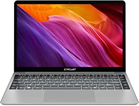 TECLAST F7Plus Ordenador Portátil 14.1 Pulgadas 8GB RAM 256GB SSD, Windows 10, Intel Celeron N4100, UHD Graphics 600, FullHD 1920*1080 IPS, 2.5D, WiFi, Doble USB 3.0, 38000mWh