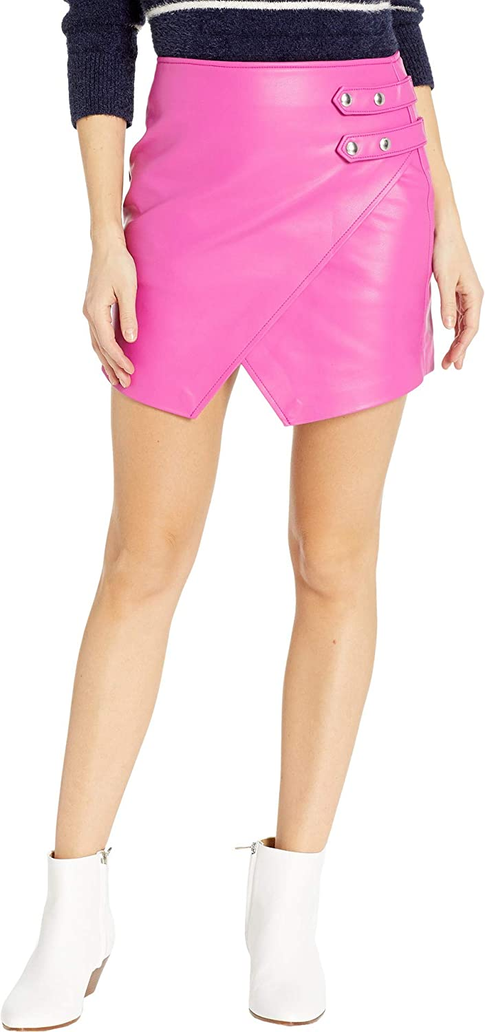 [BLANKNYC] Blank NYC Womens Vegan Leather Mini Skirt in Girls Night Out