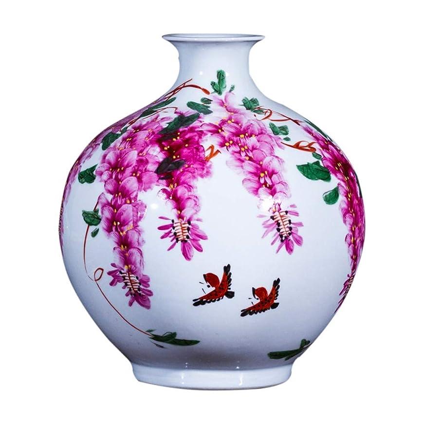 外科医隠仮称花瓶 デコレーションホーム世帯ウェディングリビングルームベッドルームオフィステーブル白22のx 33センチメートルための花瓶セラミッククラシックロータスハイグレード インテリア フラワーベース