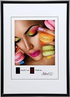 Ideal Life Kunststoff Bilderrahmen 10x15 Cm Bis 50x70 Bilder Foto Rahmen Farbe Schwarz