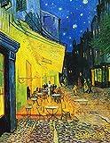 Vincent Van Gogh Agenda Annual 2020: Terraza de Café por la Noche | Planificador Semanal | 52 Semanas Enero a Diciembre 2020 | Postimpresionismo: 12 (Agenda 2020 Semana Vista)