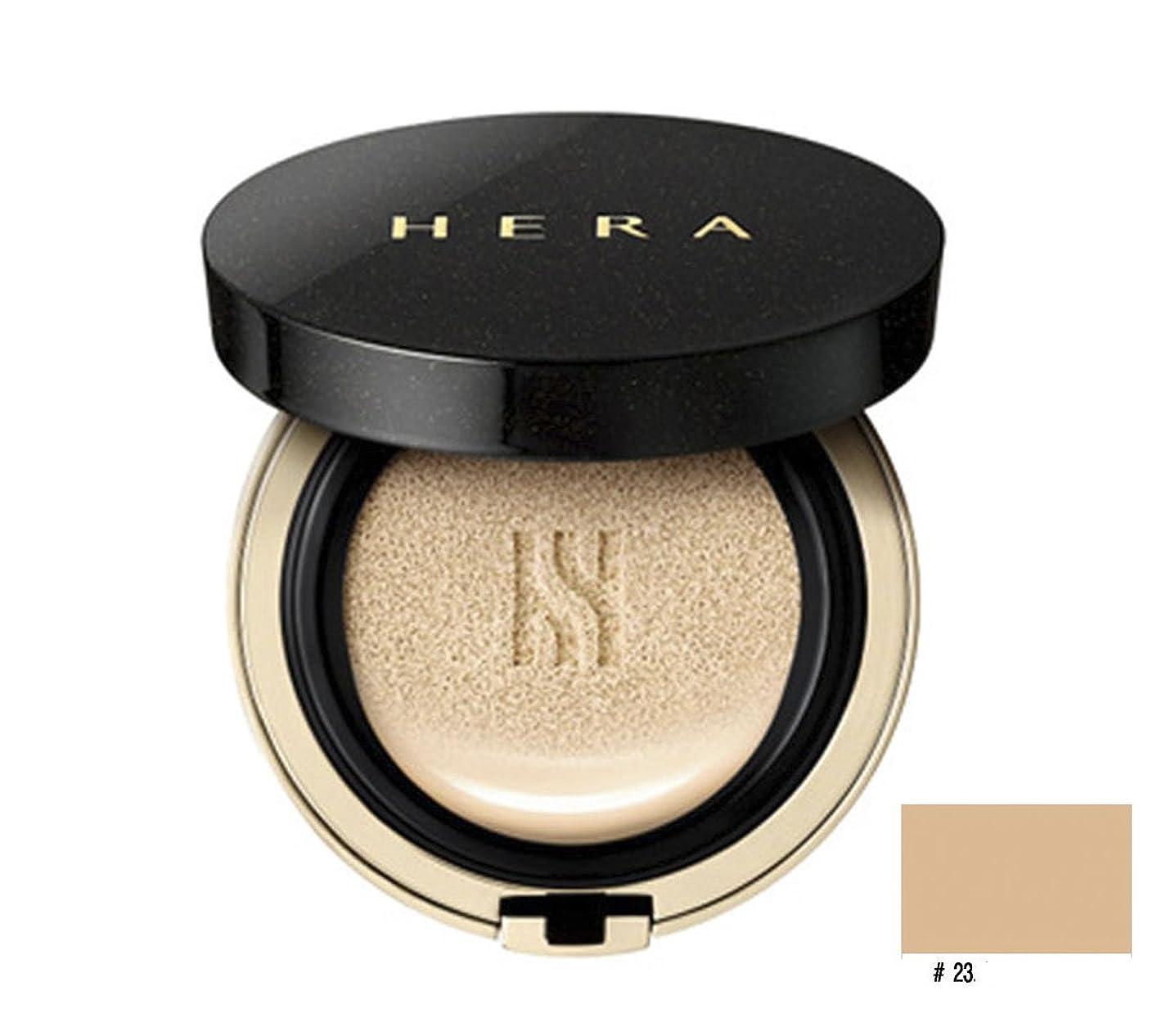 ある同一の危機Hera ブラッククッション SPF34/PA++ 本品15g+リフィール15g/Black Cushion SPF34/PA++ 15g+Refil15g (No.23 beige) (韓国直発送) + Ochloo logo tag