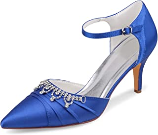 Emily Bridal Chaussures de mariage à talon aiguille, bout pointu