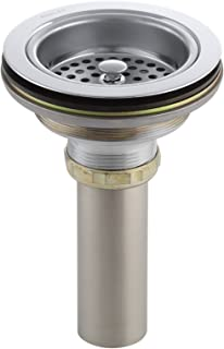 Kohler K-8801-CP Duostrainer Sink Strainer, Polished Chrome