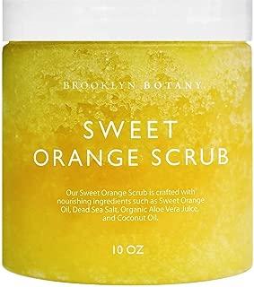 sweet orange sugar scrub