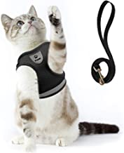 Cat Harness and Leash Set for Walking Small Cat and Dog Harness Soft Mesh Harness..