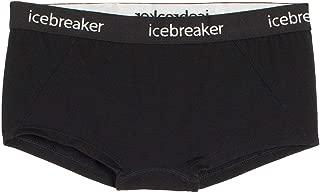 Icebreakerウィメンズスプライトボディフィットホットパンツブラック、X-スモール
