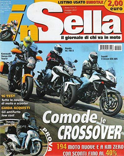 In Sella 5 maggio 2012 Lambretta LN 125-Yamaha Xenter 150
