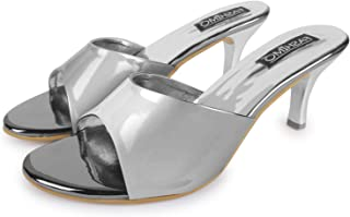 FASHIMO Stylish Fashion Sandals (Slip-On Heel) For Women And Girls