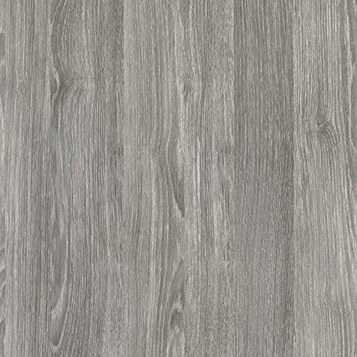 [14,43€/m²] Selbstklebende Folie in Holz-Optik AUF WUNSCHMAß inkl. Rakel & eBook mit Profi-Tipps I Klebefolie Eiche grau Holzdekor für Möbel & Küche – abwaschbar & hitzebeständig I Möbelfolie Holz