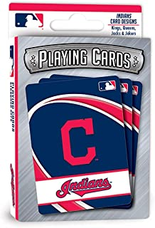 MasterPieces Puzzle 91738 MLB Cleveland Indians Playing Cards