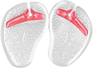QIAONAI つま先 サポーター クッションカバー フットカバー 草履用 スリッパ用 ミリコン製 柔らかい 靴擦れ防止  冲撃減少 着心地いい 快適  パンプス用 一足 夏物