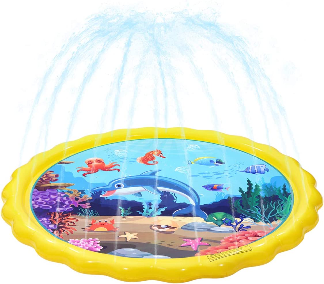 Sales for sale NUOBESTY PVC Sprinkler Water Pad 1pc Outdoor Kids Pool High quality Swimming