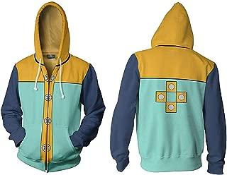Seven Deadly Sins Hoodie,Fairy King Harlequin Cosplay Costume Sweatshirt Jacket Unisex
