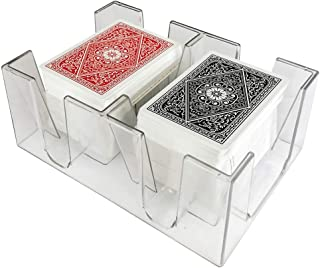 YH Poker 6 Deck Clear Playing Card Tray