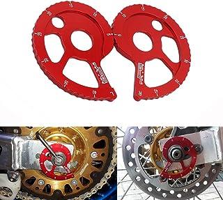 JFG RACING - Kit de guía de Cadena CNC para Honda CRF 150F 03-17, CRF 230F 03-17, CRF 230L 06-10, CRM250 AR 97-98 / XLR250R 90-98 / XR250R 89-04 / XR 250L 91-95 / XR 400R 96-04 / XR 600R 88-00