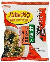 ムソー どんぶり麺・しょうゆ味ラーメン 78g