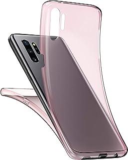 Herbests Kompatybilne z Samsung Galaxy Note 10 Plus etui na telefon komórkowy 360 stopni, dwustronne etui silikonowe, prze...