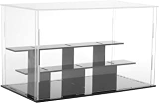 HOMYL Model Display Clear Case Acrylic 3 Step for Action Figure Doll Box Dustproof