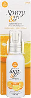 Air Scense 2125961 2 fl oz Citrus Spray & Go Air Fresheners - Case of 6