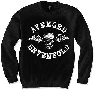 Avenged Sevenfold Men's Classic Deathbat Sweatshirt Black
