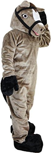 Langteng gris Cheval Dessin animé Costume véritable Tableau 15–20days Livraison Marque