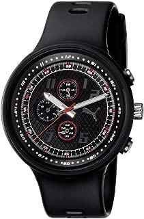 Men's PU910401001 Slick Chronograph Black Dial Watch